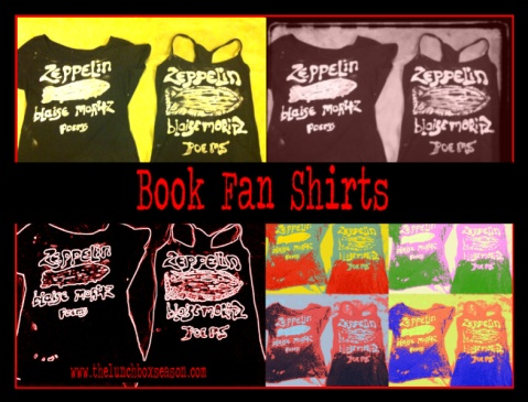 Book Fan Shirts from thelunchboxseason