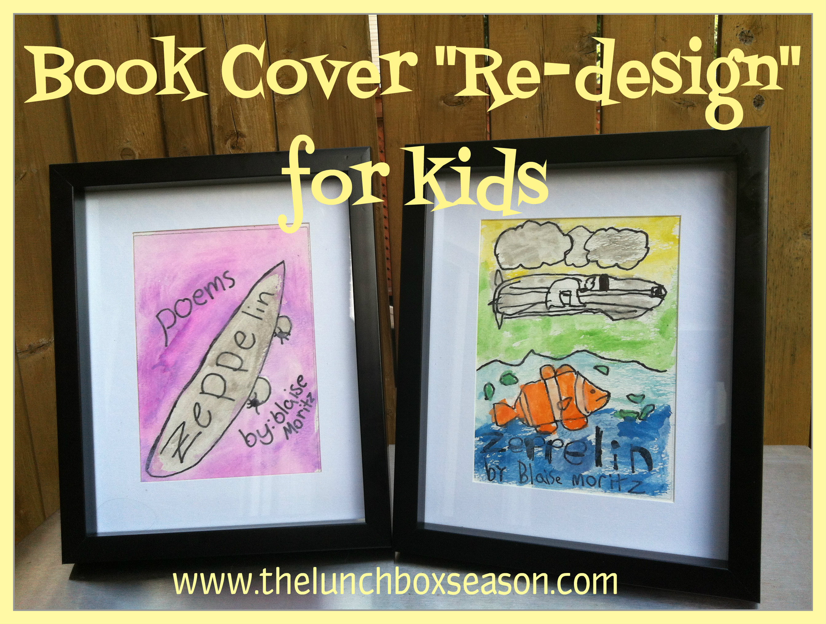 Book Cover Design For Kids : Book cover re design for kids the lunchbox season